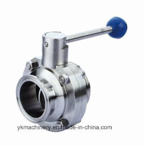 Sanitary Stainless Steel Clamp Butterfly Valve