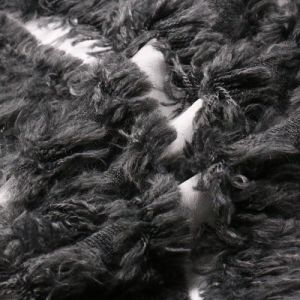 Processed Nylon Wool Fabric with Fur pictures & photos