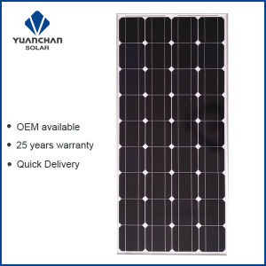 Yuanchan 150W Mono Solar Panel From China Manufacturer with Low Price pictures & photos