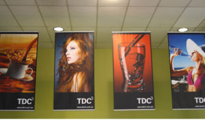 Digital Printing Hanging Banner for Indoor Advertisement pictures & photos