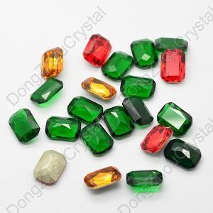 Jewelry Making Loose Stone Dz-3008 Octagon Point Back Crystal Fancy Glass Stone pictures & photos