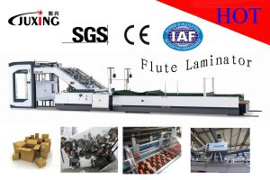 High Speed Automatic Flute Laminating Machine (QTM-1450) pictures & photos