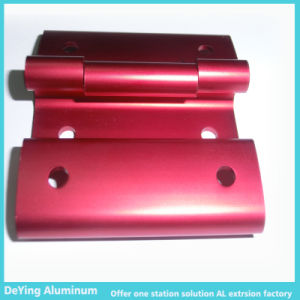 Competitive Aluminum/Alumminium Profile Extrusion Hardware Anodizing in Red pictures & photos