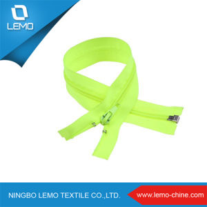 Nylon Zipper with Plastic Slider pictures & photos