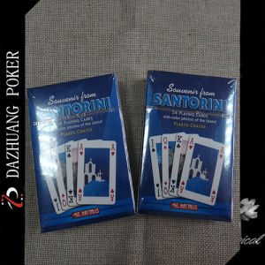 Souveris Santorinis Plastic Coated Playing Cards pictures & photos