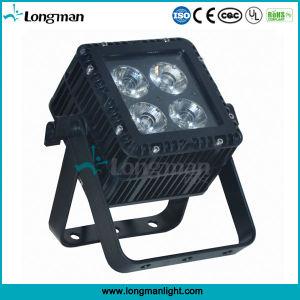 RoHS DMX 4 15W Ostar RGBW LED Aluminum Quad Color LED PAR Light pictures & photos