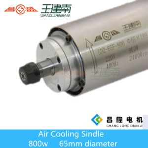 65 Diameter 800W High Speed Round Air Cooling CNC Spindle for Wood Carving pictures & photos