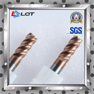 HRC 65 Degree Tungsten Steel Carbide End Mills pictures & photos