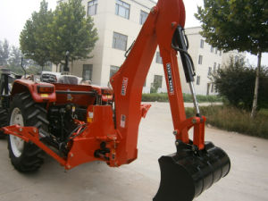 Hot Sale 55HP 4WD Agricultural Tractor Wtih Backhoe pictures & photos