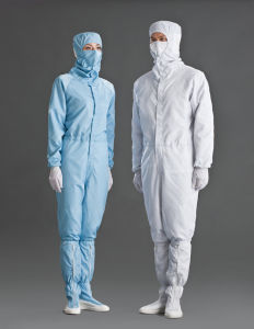 ESD Garment Lingtech Autoclavable Cleanroom Coverall pictures & photos