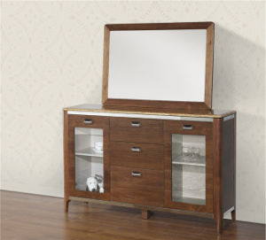 Wooden TV Stand with Drawer Wooden Furniture (SBLDS-193B) pictures & photos