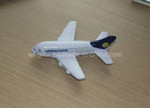 Hot Sale Plane Shaped PU Stress Balls