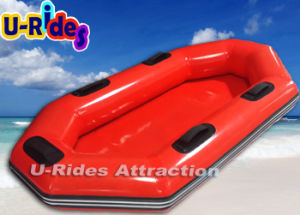 Inflatable Water Boat on Water Park Slide pictures & photos