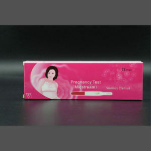 Home HCG Test Pen Packed by Box pictures & photos