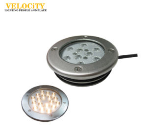 9W/18W 316 Stainless Steel IP68 RGB LED Swimming Pool Underwater Light