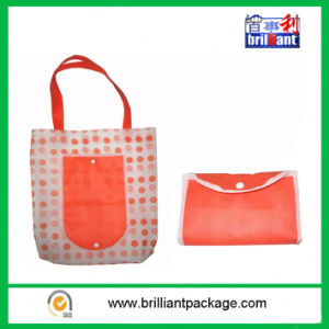 Folding Non Woven Shopping Bag Samll Tote Shopping Bag pictures & photos