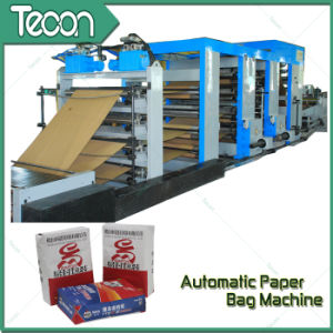 Auto Control Bottom Pasted Paper Bag Machine pictures & photos