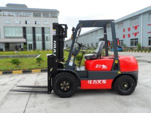 Diesel Forklift with Sideshifter and Japanese Engine pictures & photos