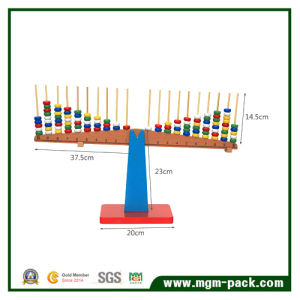 Factory Price Montessori Math Balance Wooden Toy pictures & photos