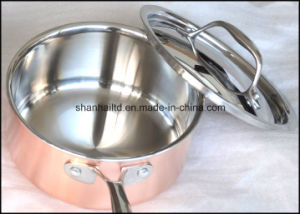 3ply Body Copper Cookware Set pictures & photos