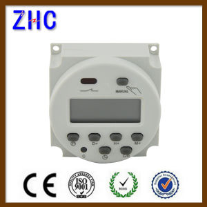 Cn101A 220-240VAC LCD Display Battery Powered Digital Time Switch pictures & photos