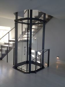 Machine Roomless Villa Elevator with Glass Cabin pictures & photos