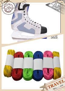 Moulded Tips Speed Skate Shoelaces pictures & photos