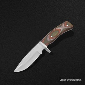 Fixed-Blade Knife with Wooden Handle (#3977) pictures & photos