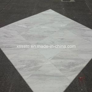 Volakas White Marble Tiles for Paving Stone pictures & photos
