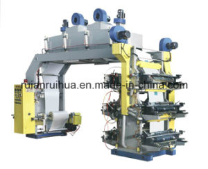 6color 1500mm High Speed Paper Roller Flexo Printing Machine pictures & photos