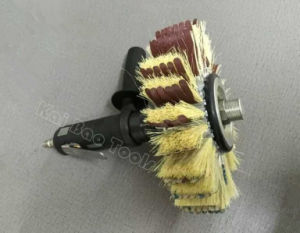 Pneumatic Air Sand Paper and Fiber Brushing Tools pictures & photos