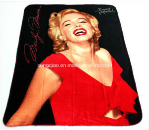 Polyester Fleece Blanket with Custom Designs /Custom Blanket pictures & photos