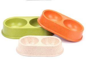 Eco Bamboo Fiber Pet Bowl (BC-PE6012) pictures & photos