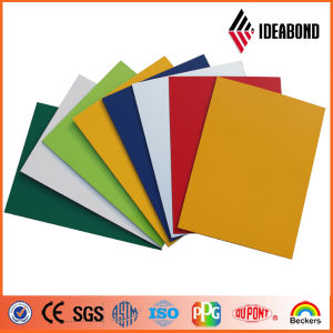 Ideabond Cladding Material Sample Advertisement Board Polyester Resin Wall Panels Building Material From China Supplier pictures & photos