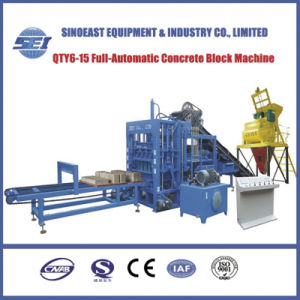 Qty6-15 Automatic Cement Paver Block Making Machine pictures & photos