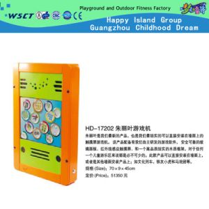 Touch Screen Game Console Play Game for Children (HD-17202) pictures & photos