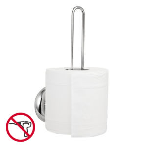Suction Space Paper Roll Holder for Bathroom Storage
