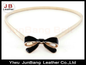 Spring Autumn Vintage Fashionable Bowknot Metal Spring Chain Belt pictures & photos