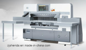 Automatic Hydraulic Paper Cutting Machine pictures & photos