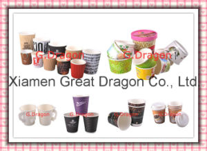 1.5-32 Ounce Hot Beverage Paper Cups and Lids (PC1111) pictures & photos