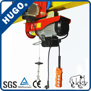 Good Quality Crane 220vmini Electric Wire Rope Hoist 100kg pictures & photos