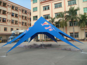 Factory Price Red Bull Star Shade Tent for Outdoor Events pictures & photos