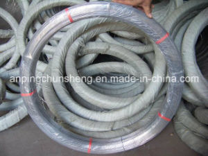 2.4*3.0mm Galvanized Oval Wire (manufacturer of producing steel wire and rope) pictures & photos
