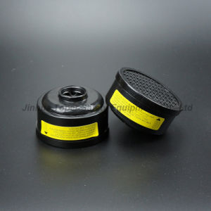 Double Cartridge Gas Mask Protection Chemical Respirator (CR6201) pictures & photos