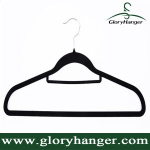 Best Selling Flocked Velvet Hanger for Garment pictures & photos