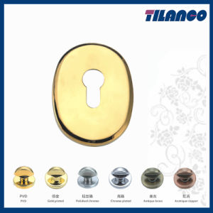 Brass Material Fine Quality Cover for Mortice Amored Doors
