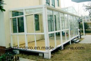 Elegant Design Aluminum Frame Prefabricated Glass House