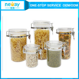 2015 New Design Transparent Plastic Jar pictures & photos