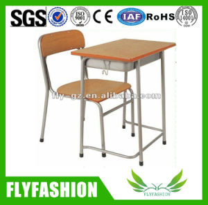 Cheap Sale Single Desk and Chair Classroom Set (SF-05S) pictures & photos