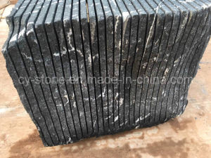 Chinese Snow Grey/Black/Jet Mist Granite for Floor/Wall/Stair/Step/Paver/Kerbstone/Landscape/Palisade/Countertop pictures & photos